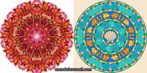 Zor mandala örnekleri çizimi