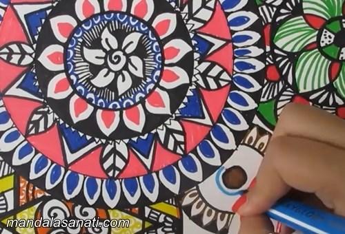Mandala Boyama Nasıl Yapılır Mandala örnekleri
