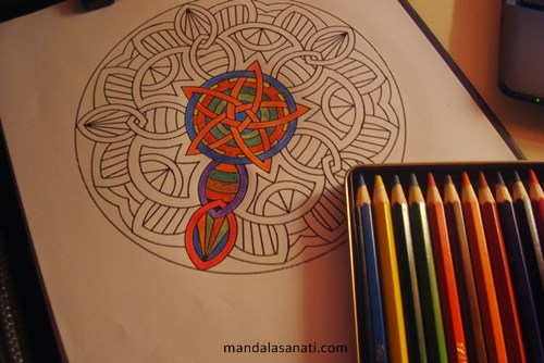Mandala Kalemleri Ile Harikalar Yaratmak