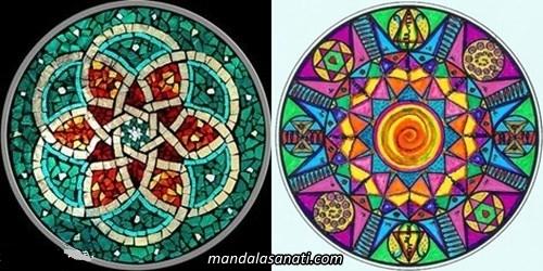 Değişik mandala örnekleri