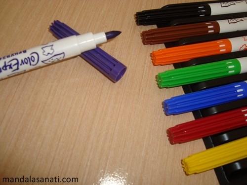 mandala kalemleri nelerdir?