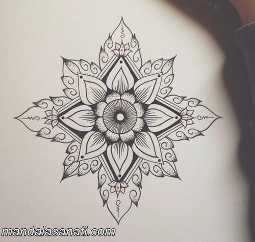 Mandala Motifi Yapımı