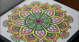 Mandala Nasıl Boyanır 4 Boyama önerisi