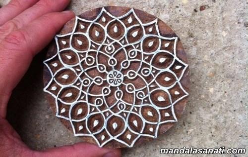mandala şablon