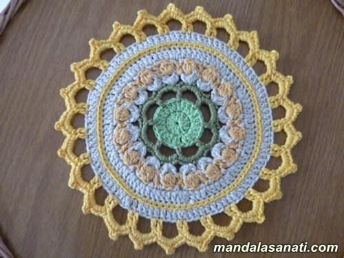 tığ işi motifler örgü mandala nasıl yapılır?