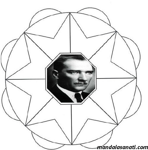 Atatürk mandala çalışmaları