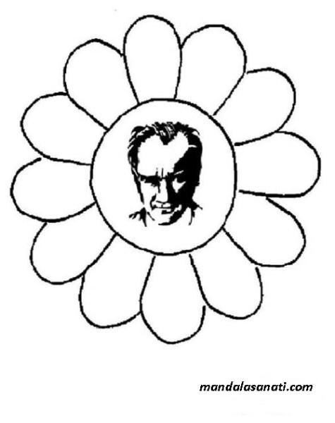 mandala Atatürk köşesi