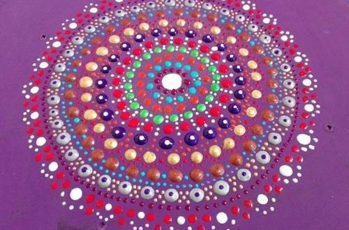 Mandala Tekniği Nasıl Yapılır Nokta Boyama Ve Geleneksel Desen