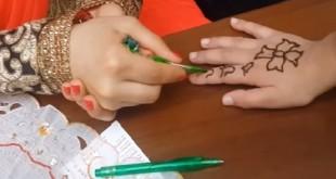 Hint kınası ile dövme nasıl yapılır?