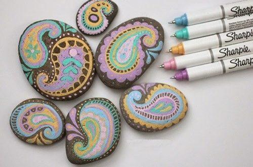 Taş Boyama Sanatı Nasıl Yapılır şekilleri Nelerdir Malzemeleri