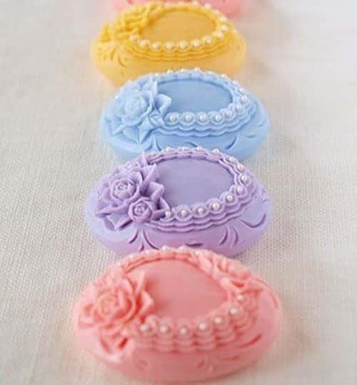 Dekor sabun yapımı