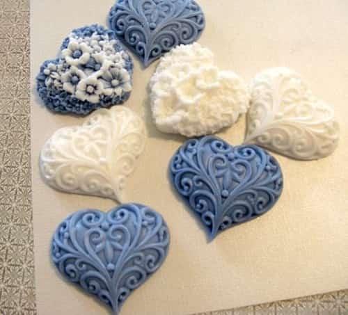 Evde dekoratif sabun yapımı