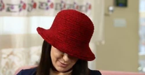 Tığ işi şapka yapılışı anlatımlı ve açıklamalı