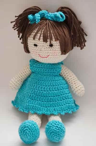 Amigurumi Bebek Yapımı - Oyuncak Bebek Yapımı Videolu Anlatım | 604x400