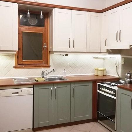 Eski mutfak dolabı boyama renkleri