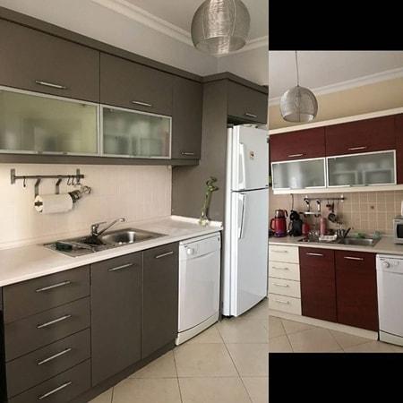 Mutfak dolabı boyama öncesi