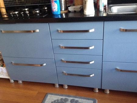 Mutfak dolabı boyama örnekleri