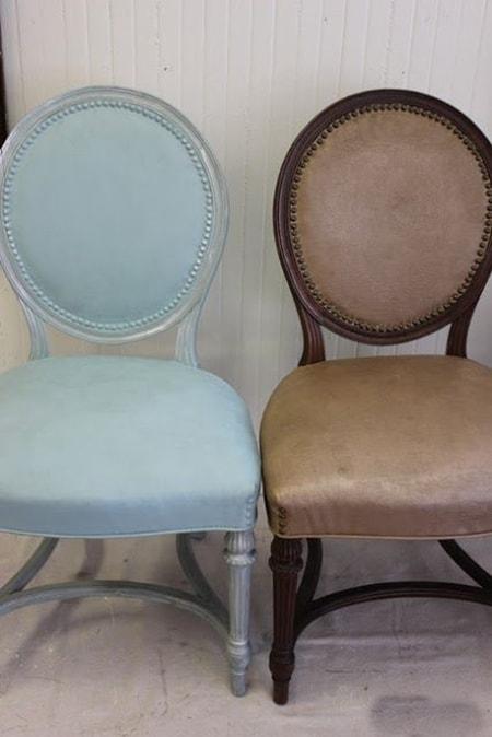 Deri sandalye boyama örnekleri