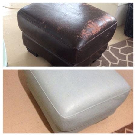 Deri Koltuk Sandalye Sehpa Boyama Nasıl Yapılır