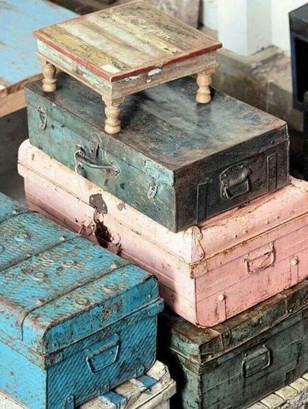 Eskitme mobilya boyama teknikleri