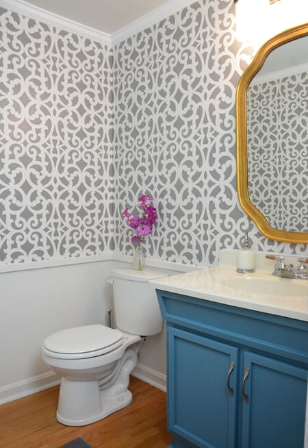 Easy Ways To Make Powder Room Pop