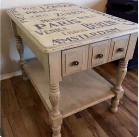 Zımpara yapmadan mobilya boyama