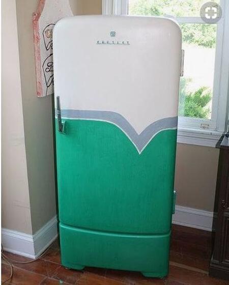 Buzdolabı boyama ilk kat