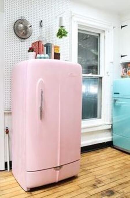 Buzdolabı boyama teknikleri