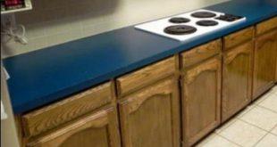 Granit, mermer ve ahşap mutfak tezgah boyama