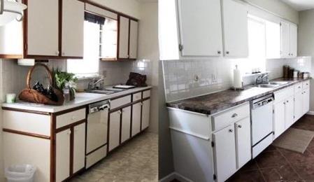 Mutfak tezgahı boyanır mı?