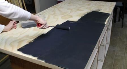 Tezgah boyama örneği