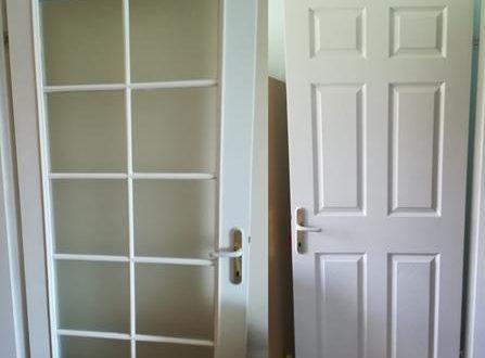 Amerikan panel kapı boyama yapımı