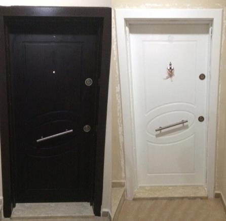 Çelik kapı beyaza boyama nasıl yapılır?