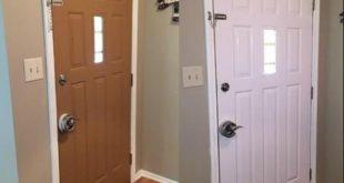 Çelik kapı boyama nasıl yapılır, tekniği