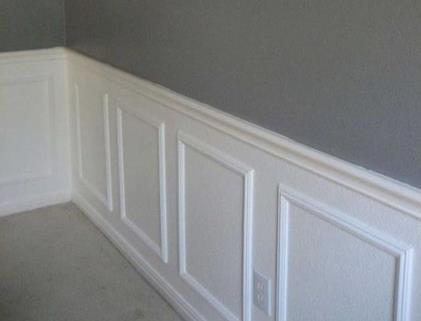 Duvara yapılan çıtalar