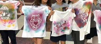 Cadence ile tişört boyama yapımı