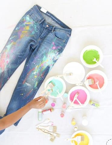 Kot pantolon nasıl boyanır?