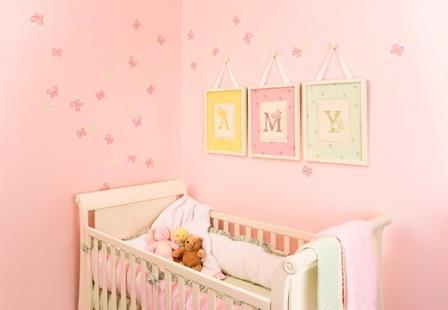 Bebek odası duvar boyama teknikleri