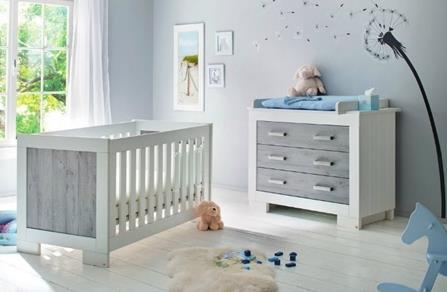Bebek odası gri duvar rengi