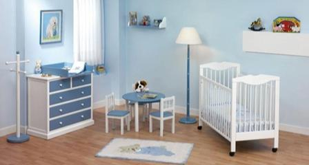 Erkek bebek odası duvar rengi