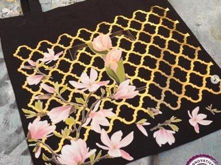 Bez çanta boyama nasıl yapılır?