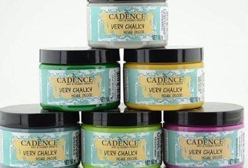 Cadence very chalky boya nerelerde kullanılır?
