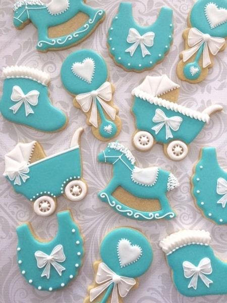 Şeker hamurlu bebek kurabiyeleri